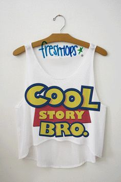 Cool Story Bro Crop Top - Fresh-tops.com