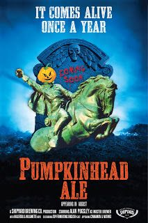 Shipyard Pumpkinhead Ale Returns In August My Favorite Time Of Year The