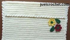 Free baby crochet pattern stroller blanket usa