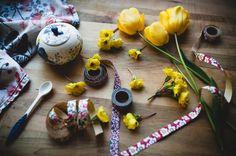 Julia's Bookbag: a spring still life Be Still, Still Life, Spring Time