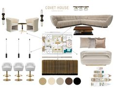 Bring warm tones to your yacht by styling it with some browns and neutral colors. By mixing browns with beige colors it will bring coziness and comfort to . Beige Color, Neutral Colors, Yacht Interior, Yacht Design, Best Interior Design, Corner Sofa, Luxury Furniture, House Inspirations, Warm