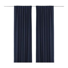 Image result for long navy drapes