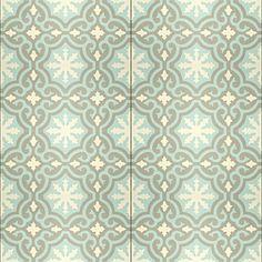 Deze Portugese cementtegel: VN Gris 06 zou echt willen verwerken in mijn droomwoonkamer | www.designtegels.nl | #leenbakker