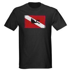 Scuba Diving Flag T-Shirt