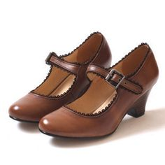 vintage shoes- love these ❤ now these are heels I can wear :)