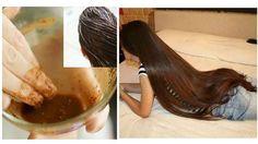 Incredible Recipe For Fast Hair Growth, Smooth Hair and Healthy Hair Glossy Hair, Shiny Hair, Hair Balm, Make Up Gesicht, Diy Hair Mask, Hair Masks, Natural Hair Styles, Long Hair Styles, Hair Remedies