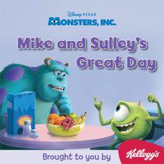 Free Disney Digital Books - Monsters, Inc.