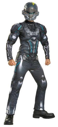 Costumes! Halo Nation Spartan Jameson Locke Costume Set Child Thru Teen Sizes #DG #MuscleCheastCostume