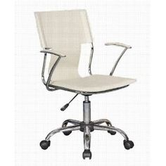 chair outlet white designer office desk chair amazoncouk office products