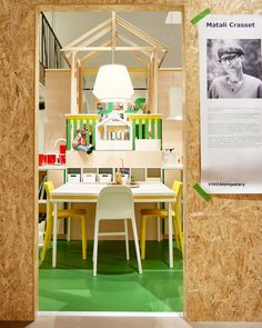 Temporary exhibition of Metod Kitchen by Matali Crasset