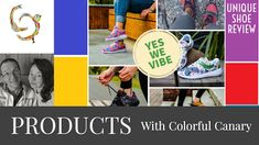 Colorful Canary: Cool Colorful Sneakers & Stuff at YesWeVibe (SALE)...