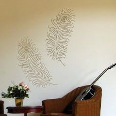 Wall Painting Stencils, Stencil Designs For DIY Wall Decor. Reusable  Stencils For Walls. | D.I.Y. | Pinterest | Wall Painting Stencils, Painting  Stencils ...