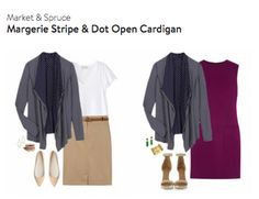 The cardigan is adorable! I would love this in a medium!!