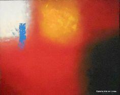 Triple Explosión Autor: José Contreras Categoría: Pintura. Técnica: Oleo y pastas sobre HDF. Medidas: 82 x 100 cms. Fecha: 2013. Marco: No. Firma: Si.