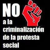 La arbitrariedad como ley (criminalizar la protesta social es coartar la libertad de expresión)