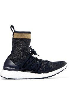 Adidas by Stella McCartney - Ultra Boost X Primeknit Sneakers - Midnight blue