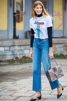 Pernille Teisbaek at London Fashion Week Fashion Week, 90s Fashion, Girl Fashion, Autumn Fashion, Fashion Outfits, Gucci Fashion, London Fashion, Couture Fashion, Fashion Brands