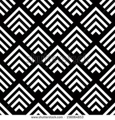 Black and White Geometric Patterns | ... geometric-vector-background-simple-black-and-white-stripes-vector