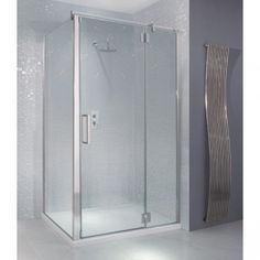 Create your owen shower enclose using an existing wall and a door with a side panel, this Manhatten M8 is one of our favourites.