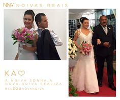 Ka #eusounovanoiva #noivasreais #vestidosdenoiva #noiva #bride #weddingdress #weddingdresses #casamento