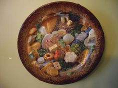 "Три тарелки ""In vino veritas "" http://dcpg.ru/blogs/513/ Click on photo to see more! Нажмите на фото чтобы увидеть больше! decoupage art craft handmade home decor DIY do it yourself plate"