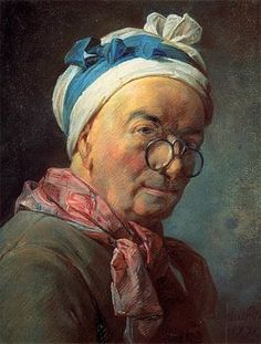 Autoportrait aux besicles, 1775, Jean Siméon Chardin, Paris, musée du Louvre: