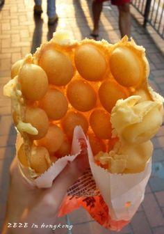 [진짜홍콩맛집]#119 홍콩국민간식 '계란빵' : 네이버 블로그