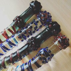 That time I almost made glass dildos. Found these over the weekend from a couple years back. Stimulation-tastic! #glass #dildos #sextoys #glassdildos