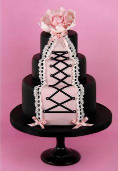 Burlesque Themed Cake.                                                                                                                                                                                 More