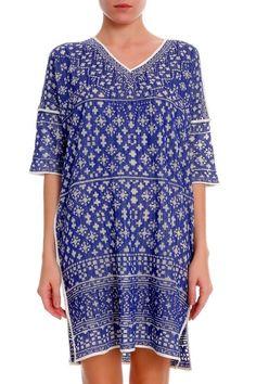 Isabel Marant short dress blue white on Tradesy