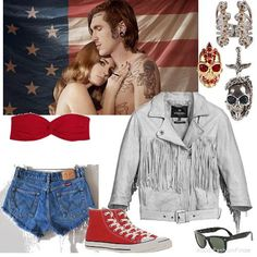Lana del Rey:Born to die <3 I <3 the red Converses :)