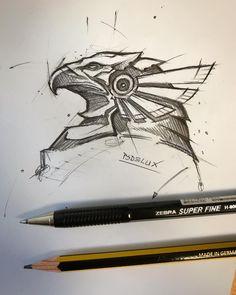 #horus #sketch #ballpointpen #pencil #normal #papir