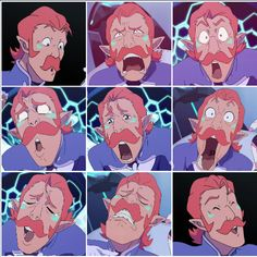 VLD - the many faces of Coran.  Is it just me or does Coran sound like amazingphil doing his papyrus voice?