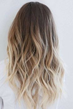35 Balayage Hair Color Ideas for Brunettes in The French hair coloring tec. - - 35 Balayage Hair Color Ideas for Brunettes in The French hair coloring technique: Balayage. These 35 balayage hair color ideas for brunettes in . Brown To Blonde Ombre Hair, Ombre Brown, Ombré Blond, Red Blonde, Blonde Color, Light Blonde, Ombre Hair For Blondes, Color Red, Blonde Shades