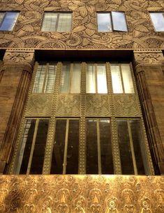 Art Deco ~ New York City | Detail, Chanin Building, designed by Sloan & Robertson