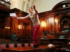"""If the Transatlantic Trade and Investment Partnership (TTIP) might not seem like an obvious subject for a fun night out at the theatre, then a Bradford City Council chamber may make for an even less likely stage. But the """"activist theatre company"""" Common Wealth hopes to confound expectations by staging an """"angry"""" work which seeks to raise awareness about TTIP, as well as entertain its audiences."""