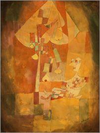 Paul Klee - Man under the pear tree