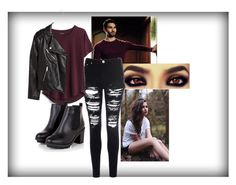 """Derek Hale Inspired Outfit"" by kyles-k on Polyvore featuring Nicholas Kirkwood, Glamorous, Madewell and H&M"