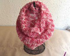 #Cuellos / bufanda ref. cup002 de punto tejido a mano en cotonet perlé acrílico 100%.  Tuyo en www.eltallerdenoa.com #scarf #muffler #Knitting #puntodemedia