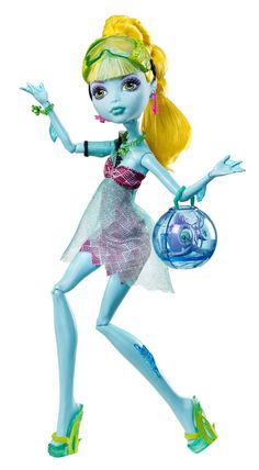 Boneca Lagoona Blue Monster High 13 Wishes - Mattel Coleção Monster High  Animais 2ea4373af1e