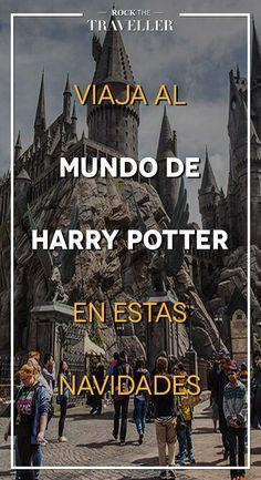 Si eres amante del #mago más famoso de los últimos tiempos, viaja a #Hogwarts esta #Navidad y sumérgete en el mundo de #HarryPotter.