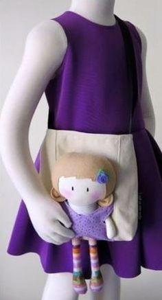 TweetBolsa de menina Olhem que ideia mimosa essa bolsa de ...