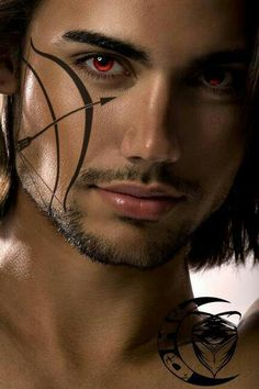 One of Sherrilyn Kenyon's Dark Hunters. Nick Gautier