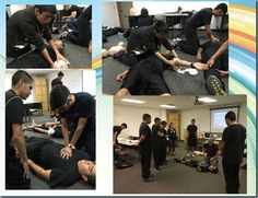 The El Paso County Sheriff's Office Explorer Post 2005 is preparing for national competition and are currently training on Emergency First Aid.  Explorers are learning CPR and what to do if presented with a medical emergency. The training will allow for the Sheriff's Office Explorers to successfully handle various situations safely and professionally. The  training will also provide the Explorers with principals and skills that can be used in various law enforcement situations.