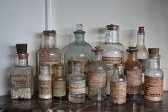 Franse apothekers flesjes
