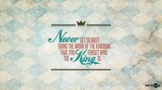 Remember the King (1920x1080) | Quoting one of the God-inspi… | Flickr