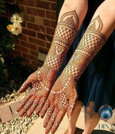 this is Heavy Full Front Hand Mehndi Design For Brides Arabic Bridal Mehndi Designs, Rajasthani Mehndi Designs, Indian Henna Designs, Full Hand Mehndi Designs, Henna Art Designs, Mehndi Designs 2018, Stylish Mehndi Designs, Mehndi Designs For Girls, Dulhan Mehndi Designs