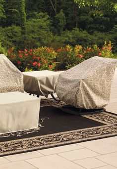 How To: Protect Outdoor Furniture
