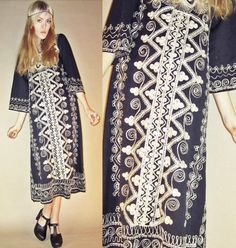 Vintage 60s 70s Psychedelic Ethnic GODDESS by LucyInDesguise, kr310.00