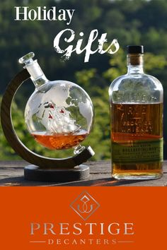beautifully meticulously handcrafted decanter makes the perfect holiday gift for the men on your